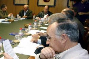 Serrano, en una reunión del sindicato, en foto de archivo.  J. F. MORENO (EFE)