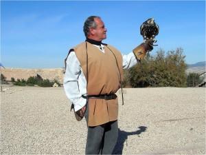 Lorca Taller del Tiempo ofrece demostraciones de cetrería
