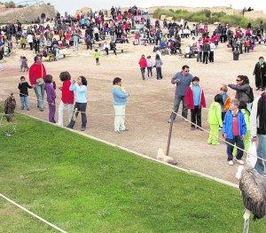 Visitantes del año pasado en el Castillo. :: P. A. / AGM
