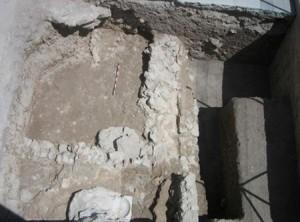 Primeros resultados interesantes de la excavación arqueológica de la muralla de Lorca