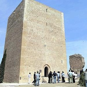 La torre del Espolón rehabilitada. Foto: Sonia M. Lario