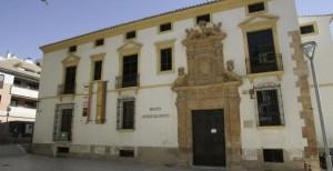 Fachada del Museo Arqueológico de Lorca, cerrado desde los terremotos de 2011.  JUAN CABALLERO