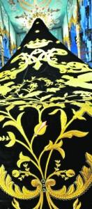 Uno de los bordados de la Semana Santa lorquina. :: P. ALONSO