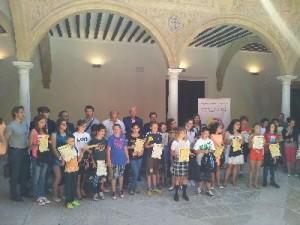 Los participantes recibieron ayer un diploma y un obsequio. juan caballero