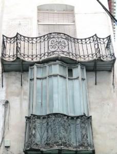 Mirador de la Casa del Reloj, en la calle Alfonso X. :: SONIA M. LARIO / AGM