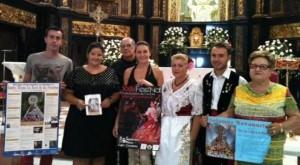 Colectivos festeros y la concejala de Cultura presentaron ayer el programa de la Feria Chica.