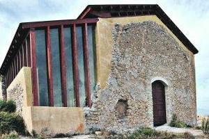 Estado actual que presenta la ermita de San Clemente. :: Paco Alonso/AGM