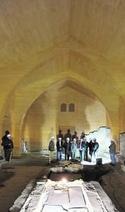 Sinagoga judía del siglo XV que se encuentra en el Castillo. / P. A. / AGM